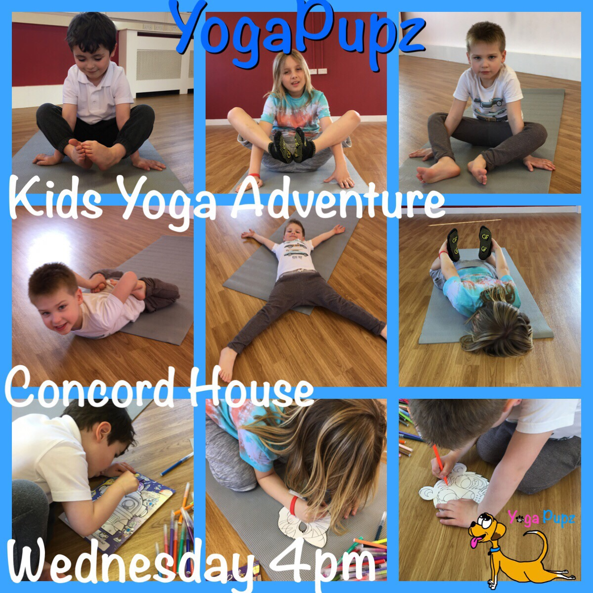 Kids Yoga Classes - Yoga poses for kids and parents