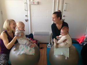 Yoga ball - Baby Yoga